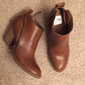 DV for Target double side zip ankle boots